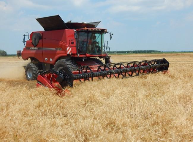 Kombájnbemutató és aratási körkép