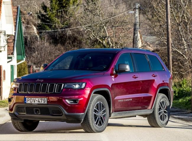 Ez az autó terepen érzi jól magát – a megújult Jeep Grand Cherokee