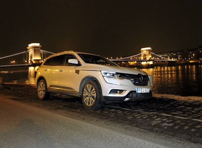 Renault Koleos Initiale Paris – a tekintélyt parancsoló SUV