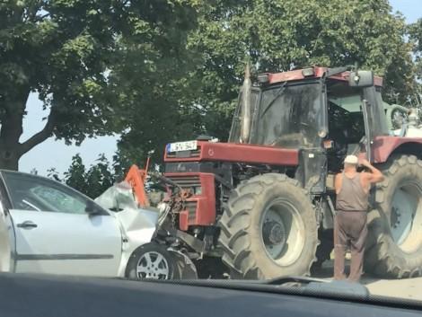 Szörnyű traktorbaleset Tolnanémedi és Simontornya között