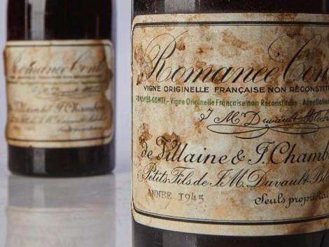558 ezer dollár – igen, ez egyetlen palack bor ára