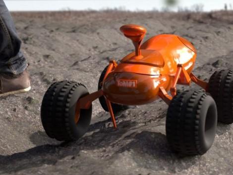 Robotokkal termeltetik meg a gabonát Angliában