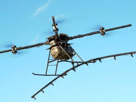 A permetező drónok használata itthon még illegális tevékenység