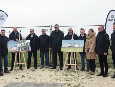 Az AXIÁL Kft. új telephelyet épít Sárváron