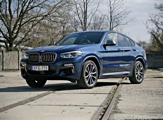Telekjárók kíméljenek – BMW X4 M40i teszt