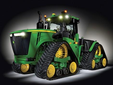 Egy ilyen traktort nézni is gyönyörűség – a John Deere legnagyobb erőgépe!