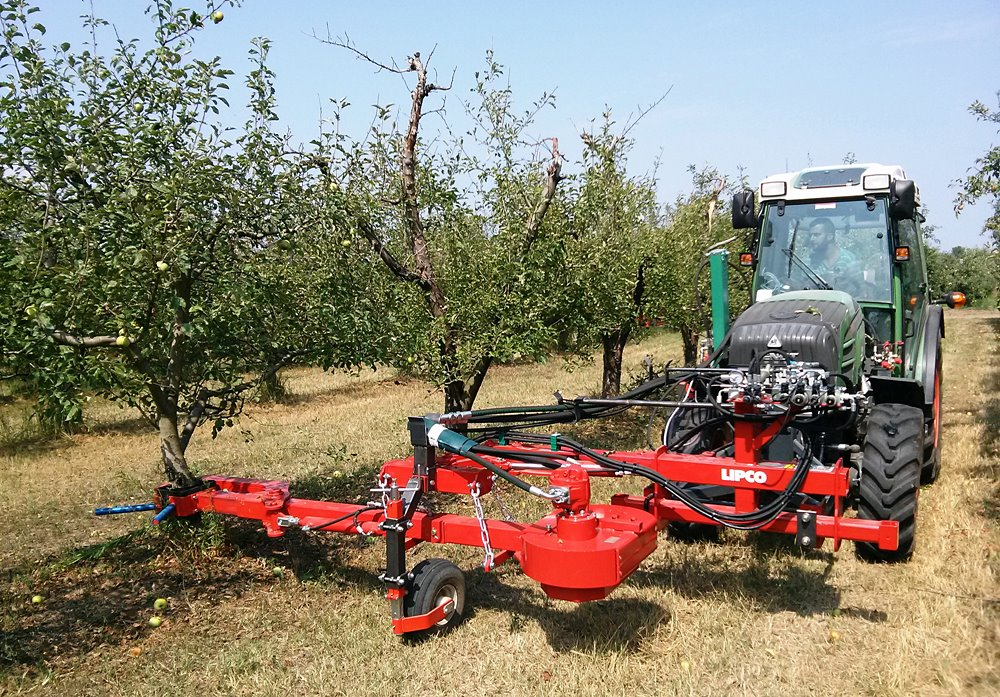 gyümölcsbetakarító gép