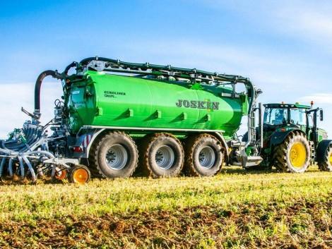 Hybrid hajtás a mezőgazdasági szállításban – újdonságok a JOSKIN-nál!