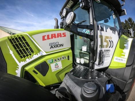 A magyar szántókon már 1500-nál is több CLAAS traktor dolgozik!