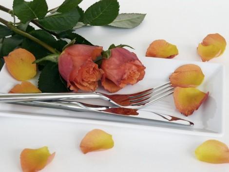 A virágok királynője mint desszert