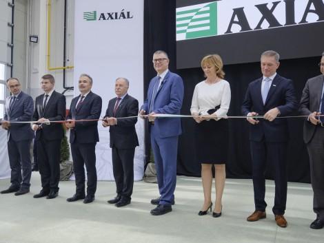 Megnyitotta új, 1400 négyzetméteres telephelyét az AXIÁL Kft. Sárváron