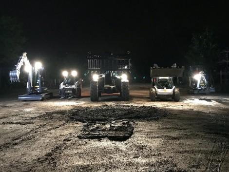 Bobcat gépek Bajnokok Ligája!