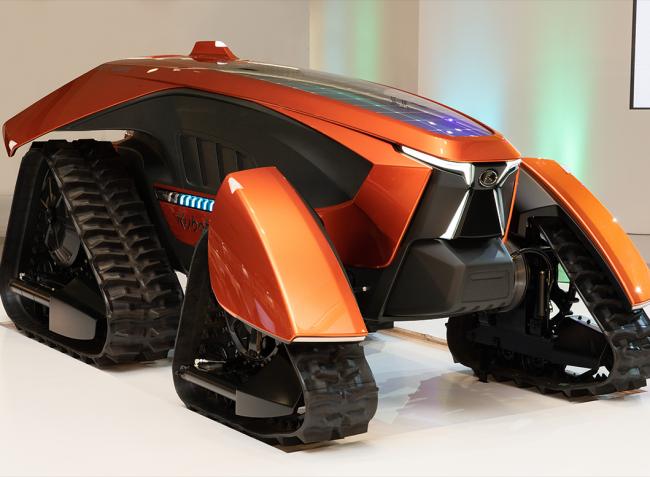 A Kubota lerántotta a leplet a legújabb fejlesztéséről: itt az X-tractor – VIDEÓ!