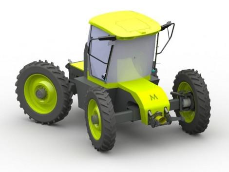 Egy kezelő egyszerre két traktort vezethet