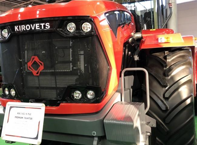Íme a Kirovets, ami elsőként gurult le a gyártószalagról