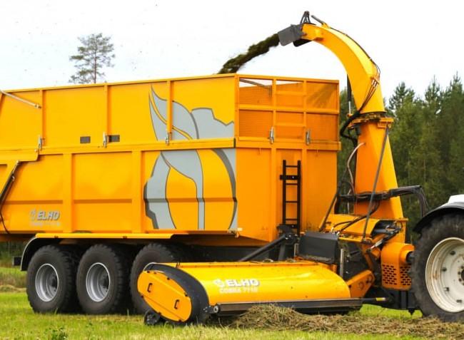 COBRA, a finn ELHO új vontatott silózója, kifejezetten a kisebb gazdaságoknak