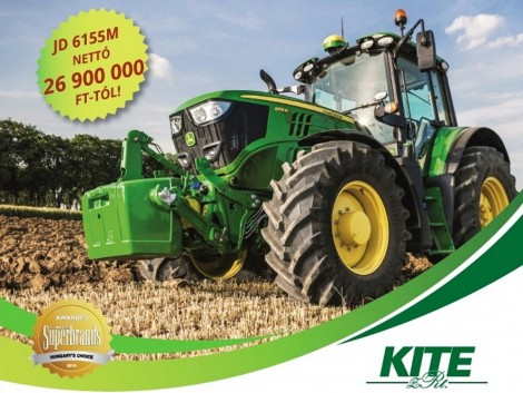 Legendás traktor, most legendásan jó áron!