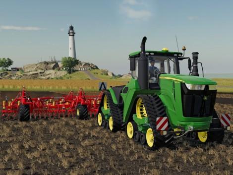 Virtuális munka John Deere 9RX traktorokkal