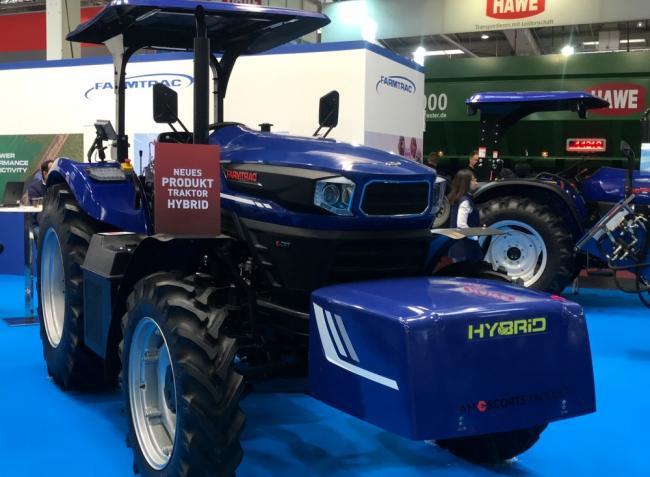 Bemutatjuk a Farmtrac hibrid hajtású traktorkoncepcióját