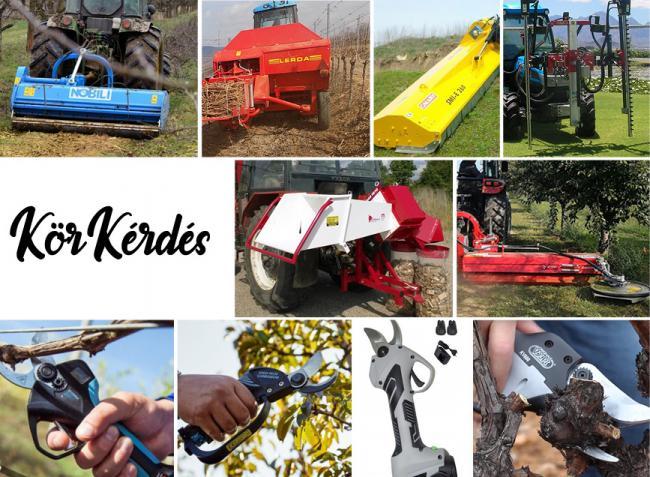 Metsszünk profi módon – a metszés és a nyesedékkezelés gépei