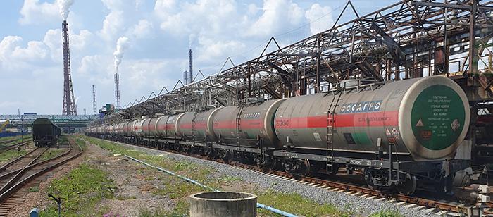 Vasúti műtrágya szállítás