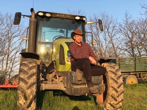 Látványos húsvéti jókívánság az agrárhallgatóktól! – VIDEÓ