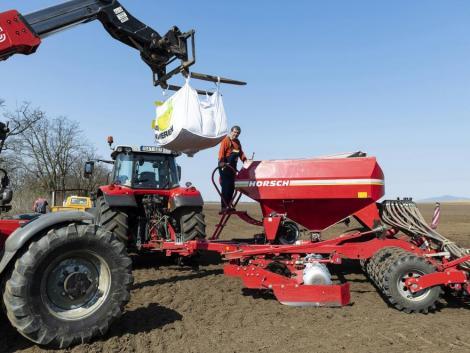A talajhőmérséklet már megfelelő a kukorica vetéséhez, de csapadékra nagy szükség van