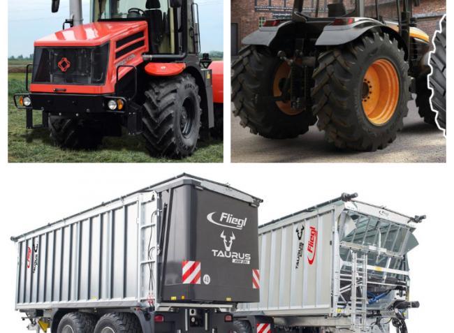 Univerzális erőgépek, Kirovec K-525 prémium traktorszéria és Fliegl pótkocsik