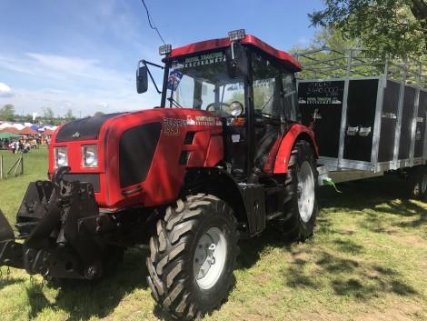 Az agrárminiszter kiemelte az MTZ Belarus traktorok hazai népszerűségét