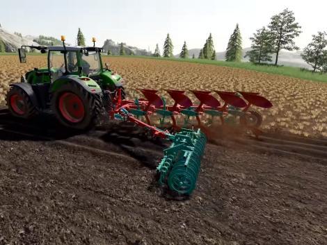 Új Kverneland és Vicon gépek érkeznek a Farming Simulator 19-hez!