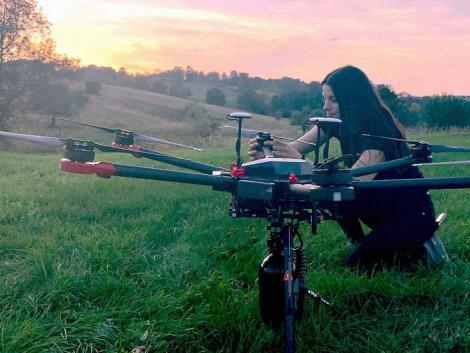 Egy hónap alatt 40 ezer fát képesek ültetni ezek a drónok