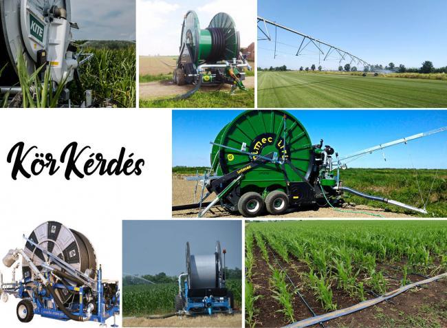 Gyorsan telepíthető öntözőberendezések, amelyek segíthetnek megmenteni a termést!
