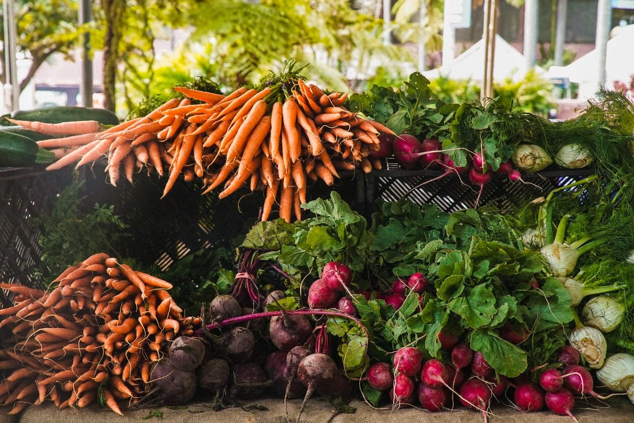 zöldségtermés