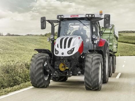 Új traktorcsaláddal jelentkezett a Steyr