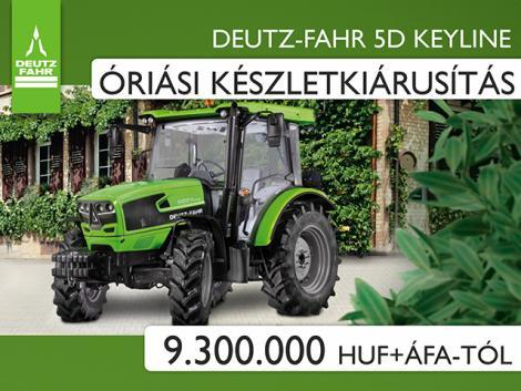 Kisgazdaságok mindenes Deutz-Fahr traktora óriási készletakcióban!