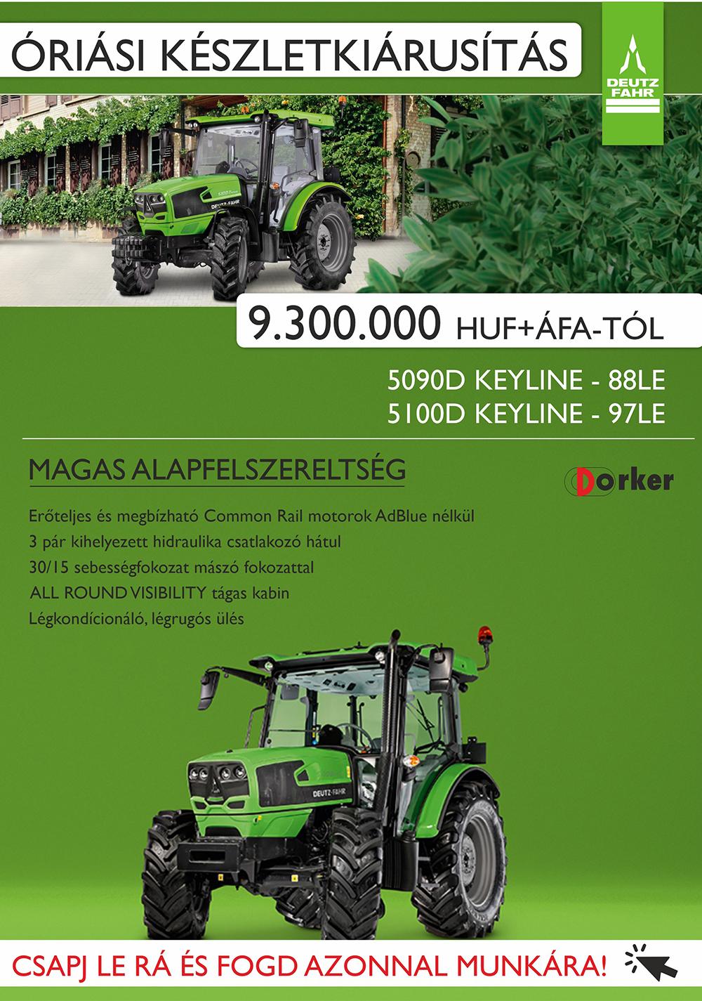 Deutz-Fahr traktor