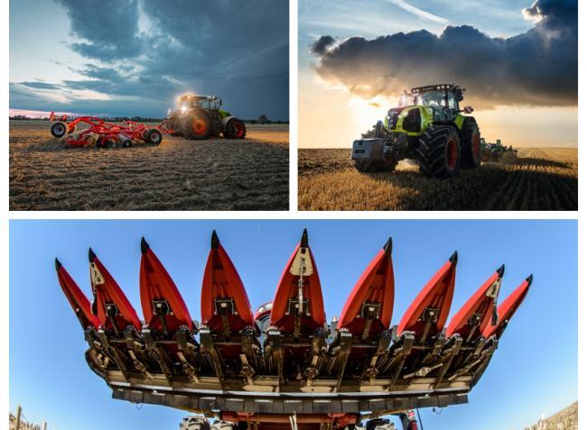 Megújult Claas erőgépek, OROS CORNADO szárzúzók és Deutz-Fahr traktorok