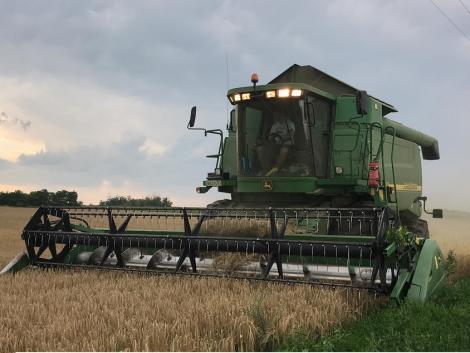Elkezdődött az árpa aratása! – VIDEÓK