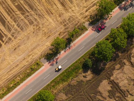 Traktor gázolt el egy biciklist