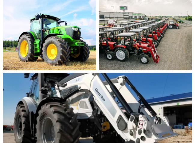 Országjáró gépbemutató, traktorpiac és MTZ erőgépek, ameddig a szem ellát