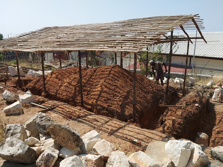 madagaszkári építkezés