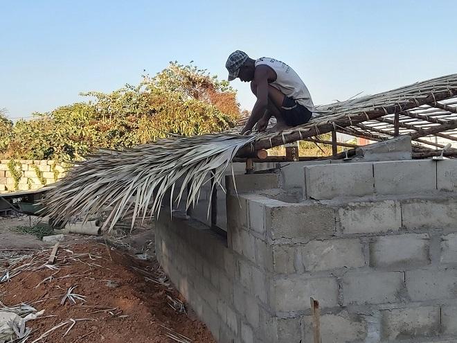 tetőfedés Madagaszkáron