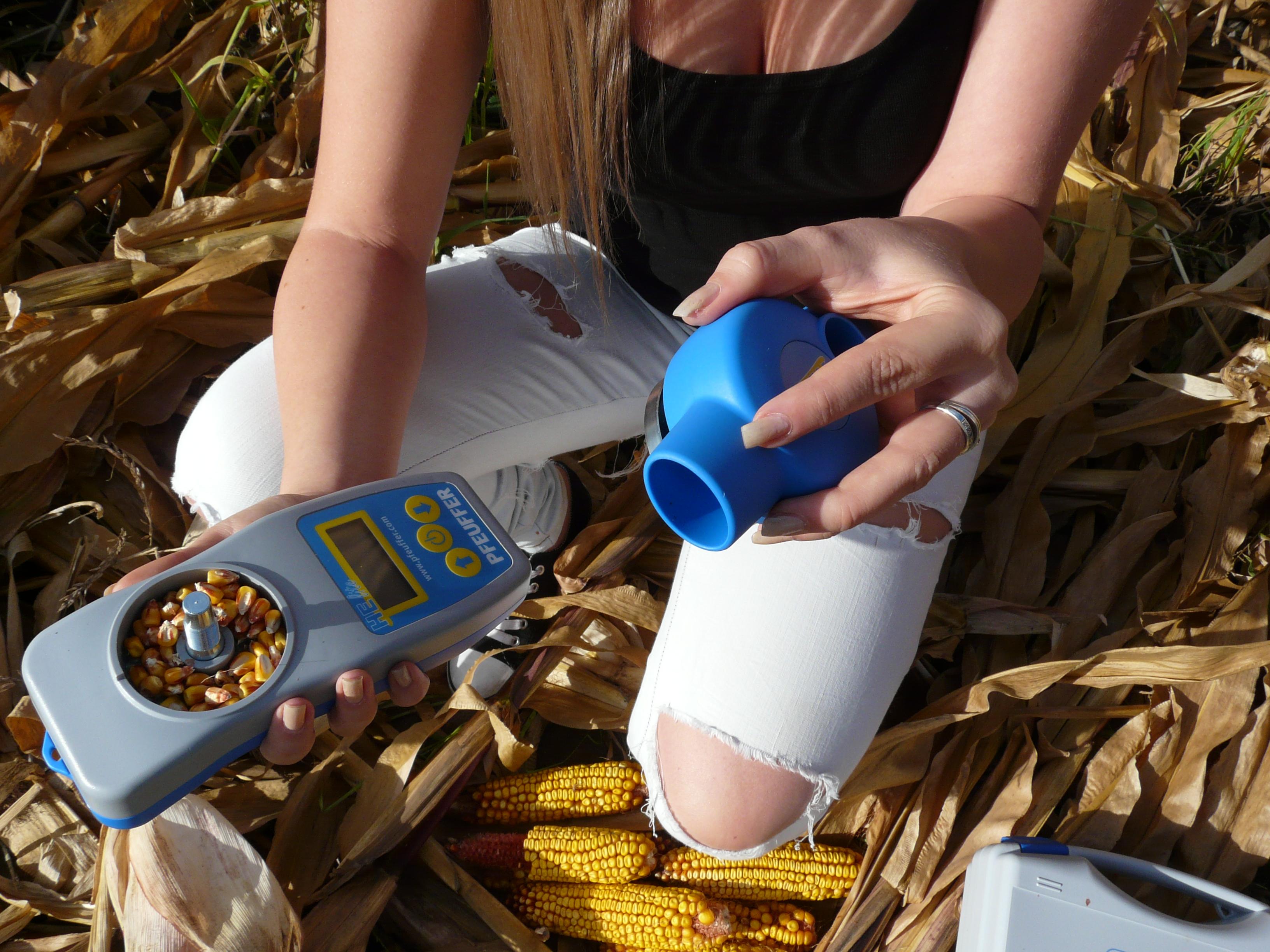 gabona nedvességmérő