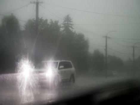 Intenzív esőzések miatt adtak ki figyelmeztetést