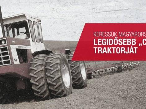 Keresik az ország legöregebb CASE IH traktorát