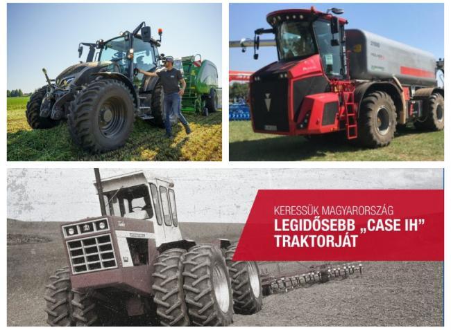 Vadonatúj Valtra modellcsalád és az ország legöregebb CASE IH traktora