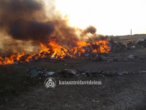 Szabadtéri tüzek pusztítottak Hajdú-Biharban