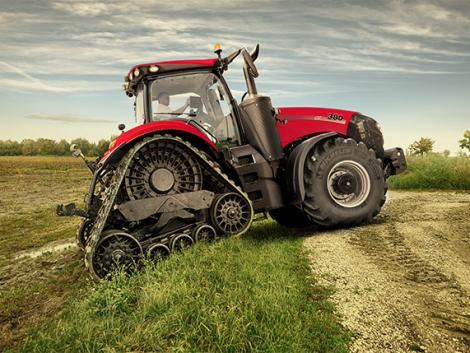 A holnap traktora a mai gazdaságokban – Új Case IH Magnum
