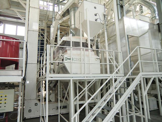 gabonaosztályozó gép