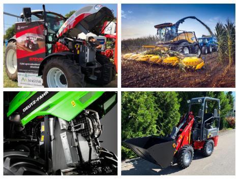 Új Deutz-Fahr széria, karfiol betakarító robot és STEYR traktorok
